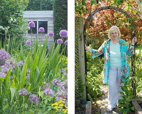 Alexandra Campbell and her Middle-Sized Garden