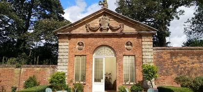 Orangery Castle Bromwich Historic Garden