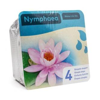 Light Pink Water Lily Easy Starter Kit Ready To Go Pack Includes Water Lily.