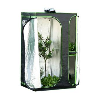 Outsunny Mylar Hydroponic Grow Tent