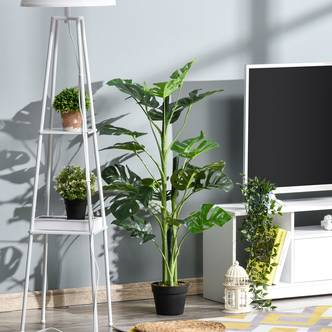 Outsunny Artificial Monstera Potted Tree