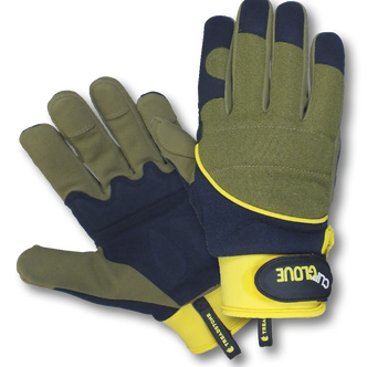 Shock Absorber Gardening Gloves from Clip Glove - Mens (Large)