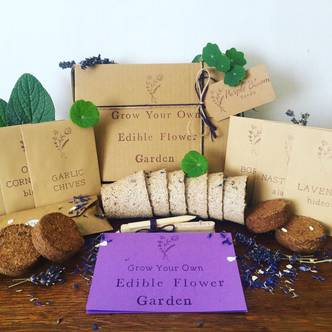 Grow Your Own Edible Flowers Seed Collection
