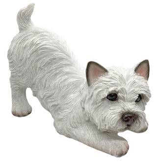 West Highland Terrier Dog Garden Ornament