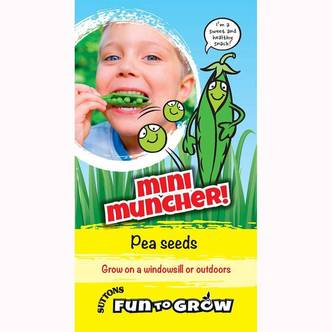 Suttons Kids Pea Seeds