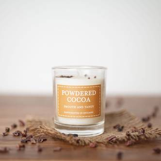 Powdered Cocoa Pastels Votive Candle