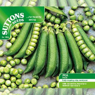 Suttons Pea Seeds Proval