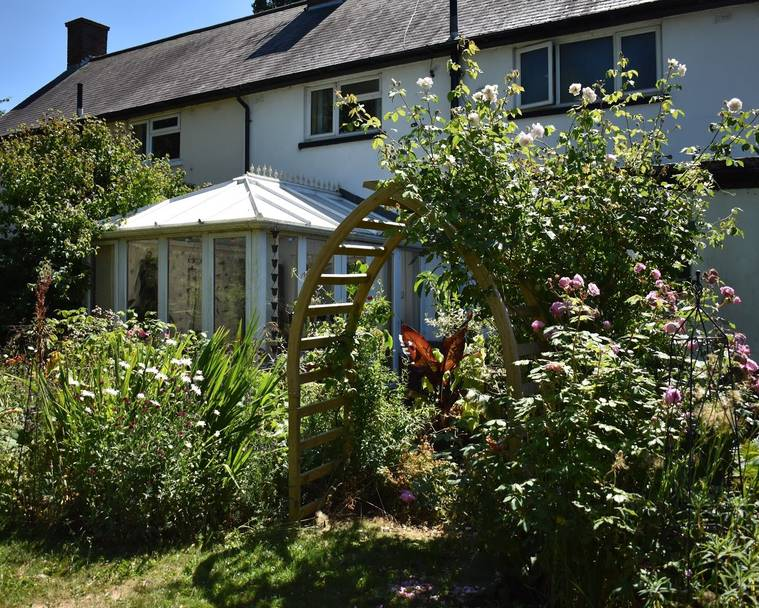 A small part of The Blackberry Garden and House