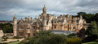 Harlaxton from above