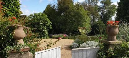 A garden gate at Charleston House