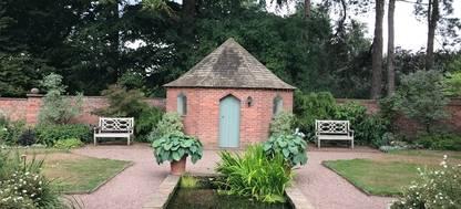 Chapel garden at Abbeywood Gardens