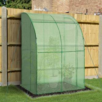 Outsunny Outdoor Plant Green House W/Zippered