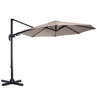 Outsunny 3M Beach Hanging Umbrella